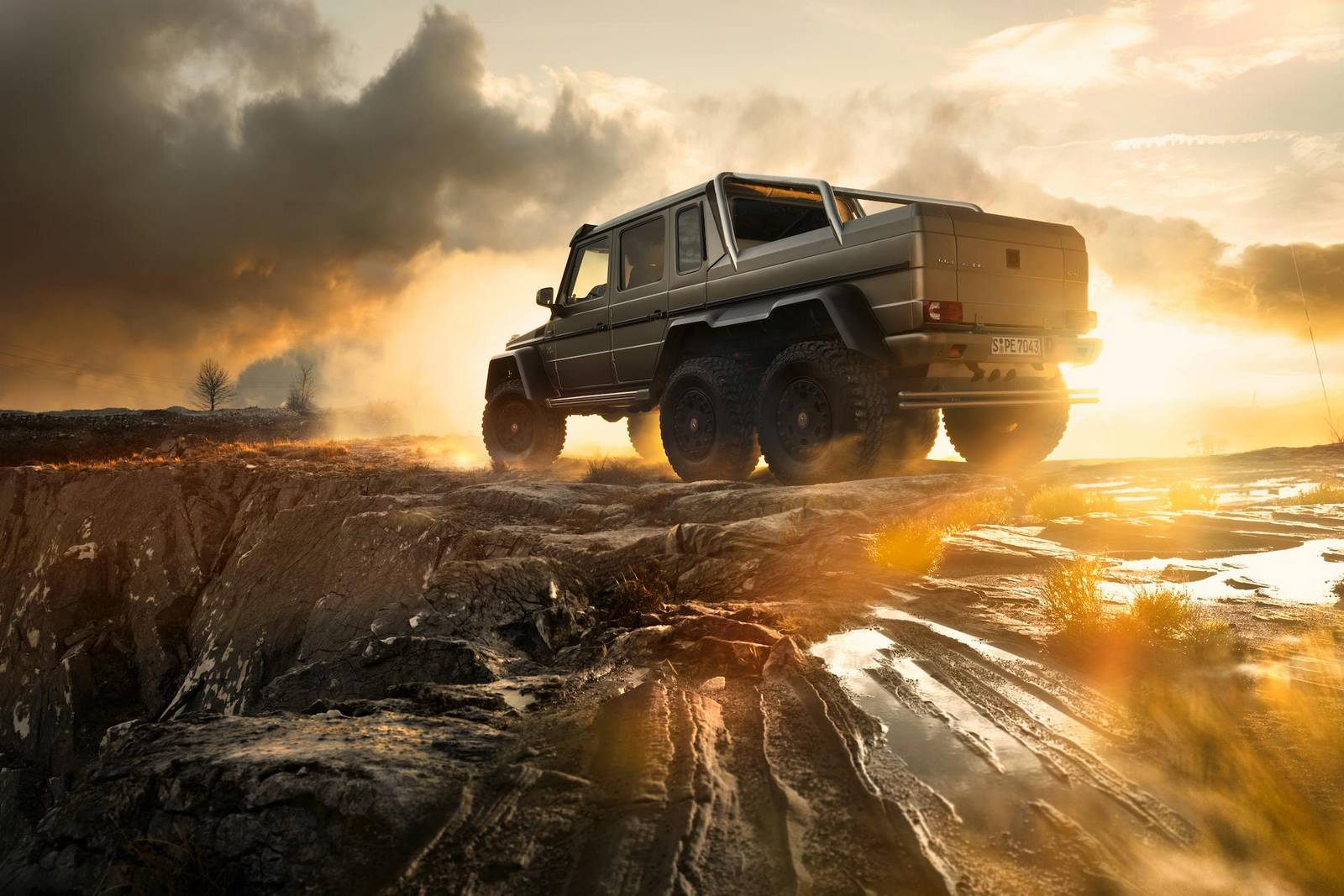 Photo Of The Day Stunning Mercedes Benz G63 Amg 6x6