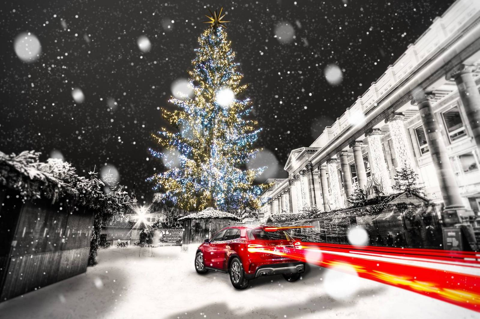 Mercedes G Tuning >> Photo Of The Day: Mercedes-Benz GLA in Christmas Glory! - GTspirit