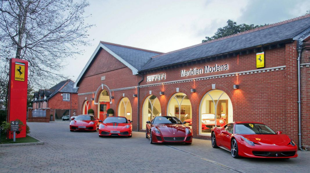 Meridien Modena Wins 'Showroom of the Year'