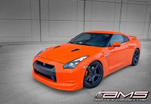Agent Orange Nissan GT-R Alpha 10 by AMS Performance