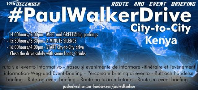 Paul Walker Drive Kenya