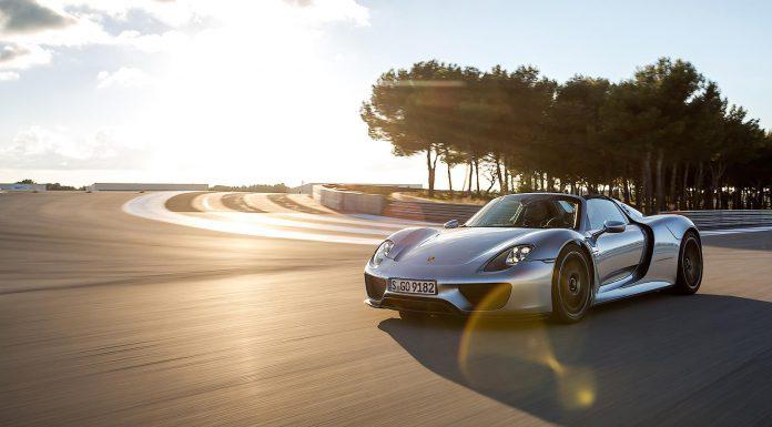 Porsche 918 Spyder Photoshoot
