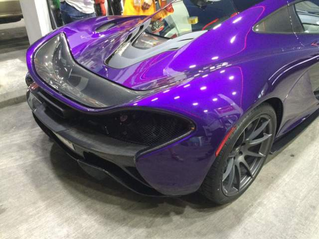 Purple Mclaren P1