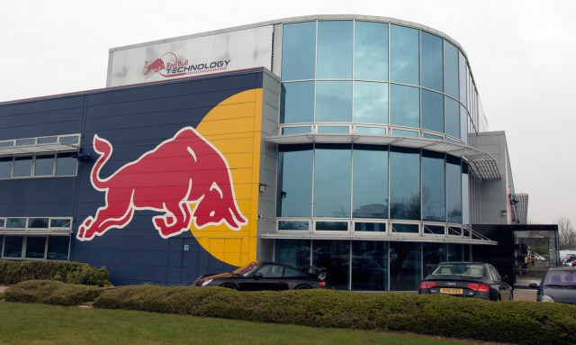 20 Red Bull Racing F1 Trophies Located in Lake