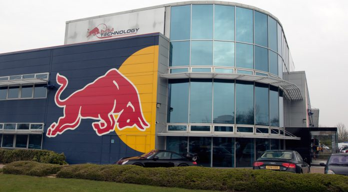 Red Bull Racing Factory Robbery