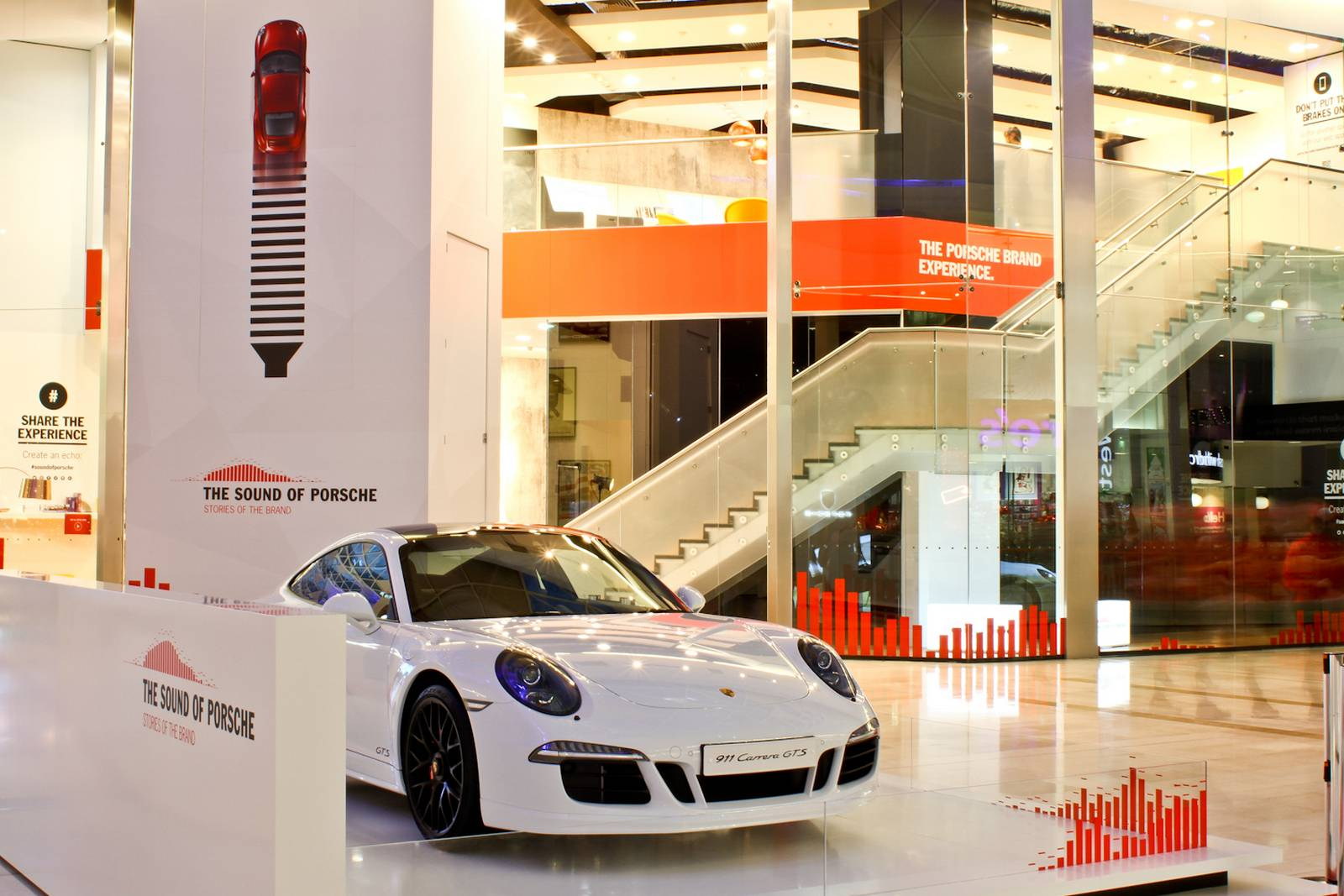 The Sound Of Porsche Multi Sensory Pop Up Store Launches