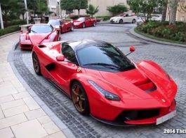 Ferrari F40, F50, Enzo and LaFerrari
