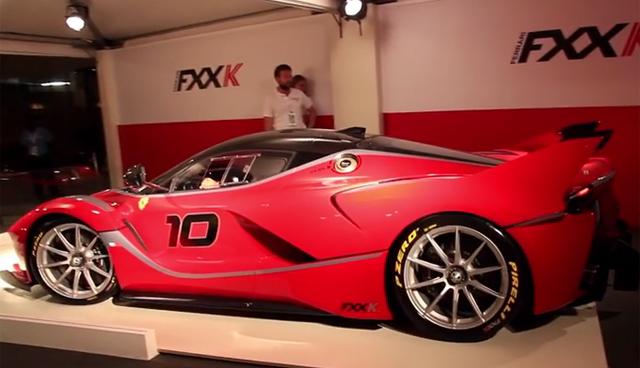 LaFerrari FXX K Roars to Life