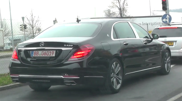 Mercedes-Maybach S400 Spied Testing
