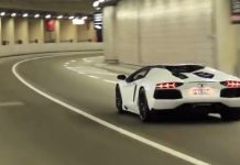 50 Supercars Accelerating in Monaco's F1 Tunnel