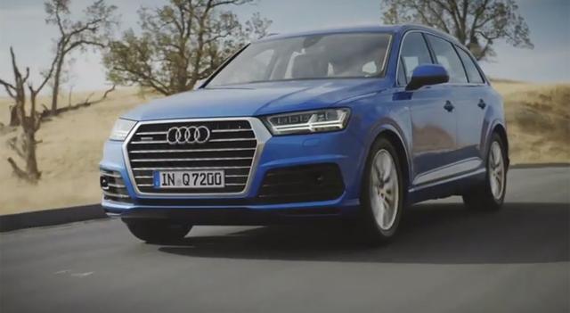 2015 Audi Q7 Trailer