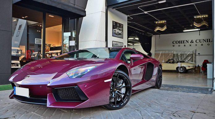 Viola Ophelia Lamborghini Aventador by Top Car Detail