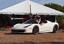 Vorsteiner Ferrari 458 Spider Lowered on ADV.1 Wheels