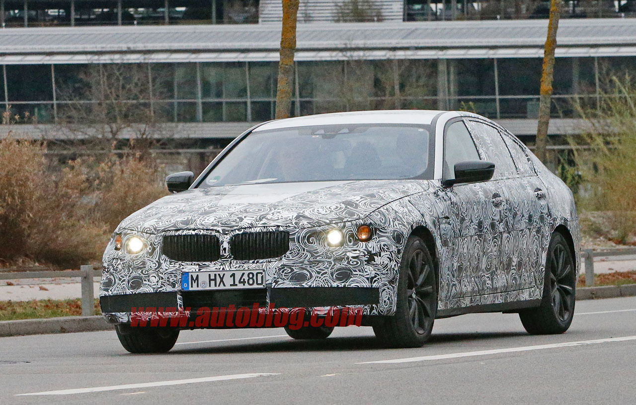next generation bmw 5 series prototype snapped gtspirit. Black Bedroom Furniture Sets. Home Design Ideas