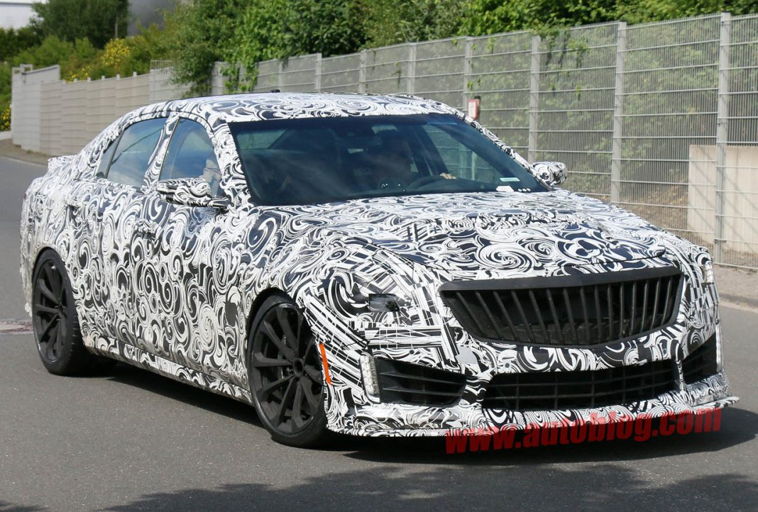 Cadillac CTS-V Debuting at Detroit