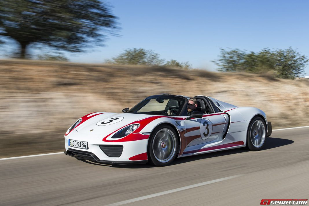 Porsche 918 Spyder Sold in the U.S.