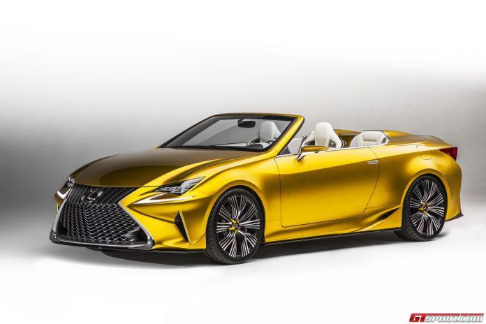 Lexus LF-C2 Concept Could Spawn New Convertible