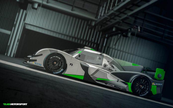Sebastien Loeb LMP3 Car