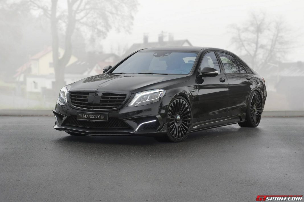 1000hp Mercedes-Benz S63 AMG by Mansory