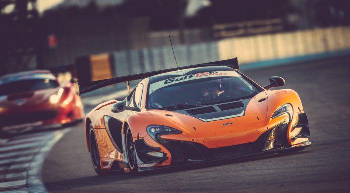 McLaren 650S GT3 in Dubai