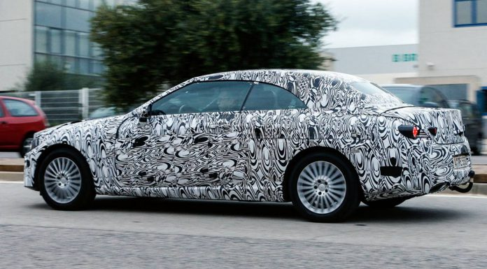 2015 Mercedes-Benz C-Class Cabrio Spied Again