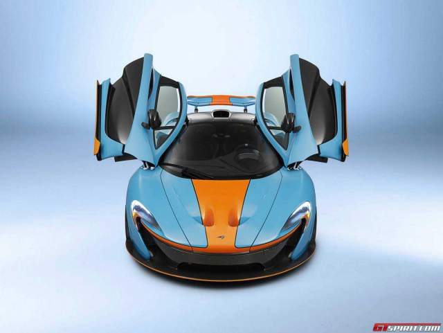 MSO McLaren P1 built for Miles Nadal