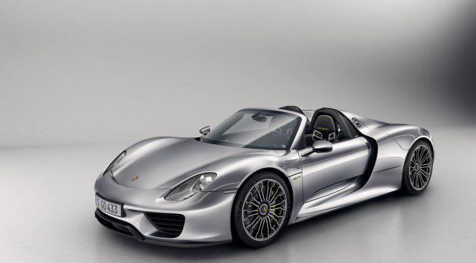 Porsche 918 Spyder recall