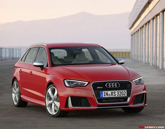 2015 Audi RS3 Sportback Pricing Leaks