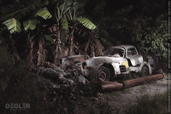 Mercedes-Benz 300SL Found Abandoned in Cuba
