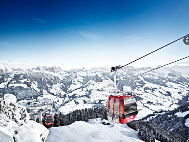 Kitzbuehel Hahnenkamm Ski Area