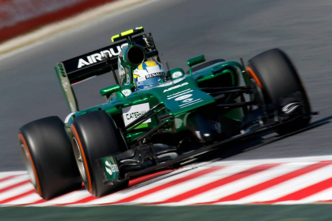 Caterham Could Use 2014 Racer in F1 Next Year