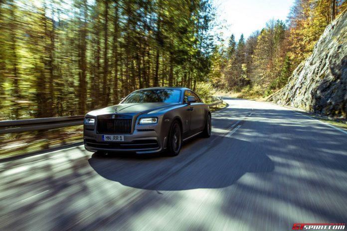717hp Rolls-Royce Wraith by SPOFEC