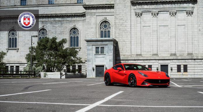 Ferrari F12 Berlinetta HRE Wheels