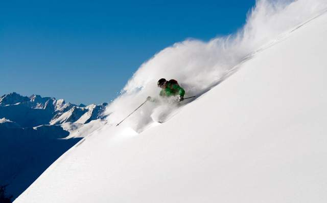 Verbier Freeride skiing