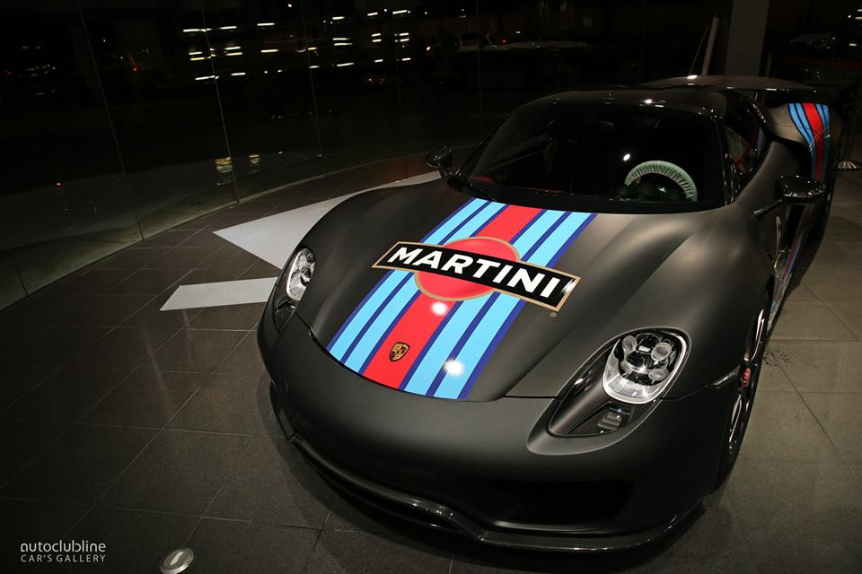 Porsche 918 Wallpaper Martini