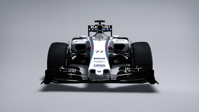 2015 Williams FW37 F1 Car Revealed
