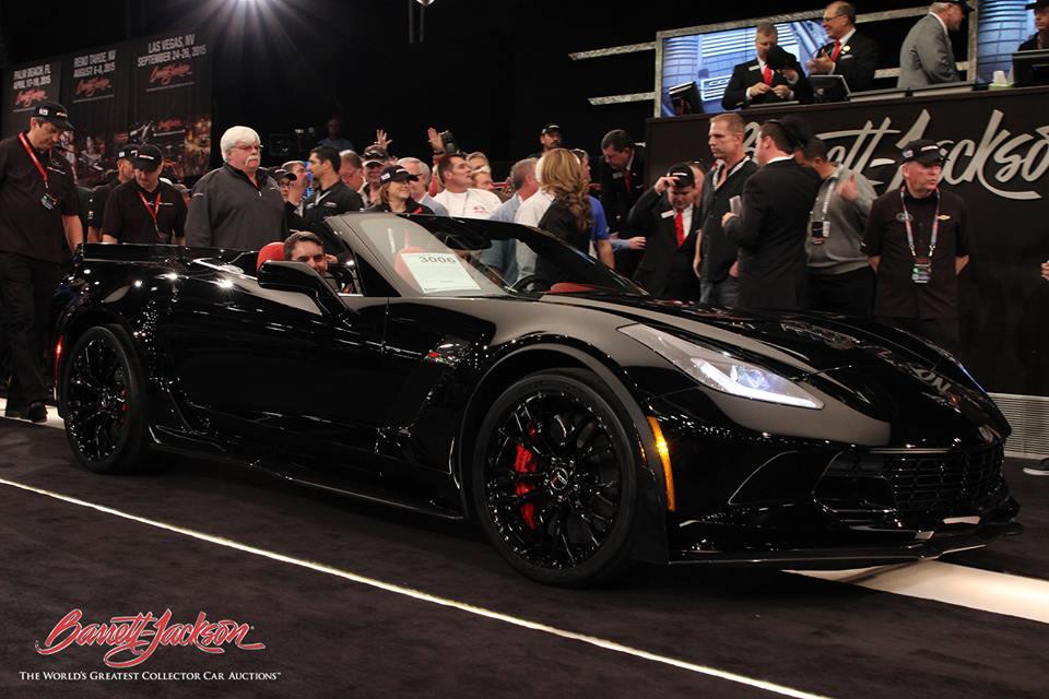 2015 Corvette Z06 VIN 001 Auctions for $800,000