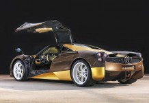 New Gold and Brown Pagani Huayra Arrives in Japan