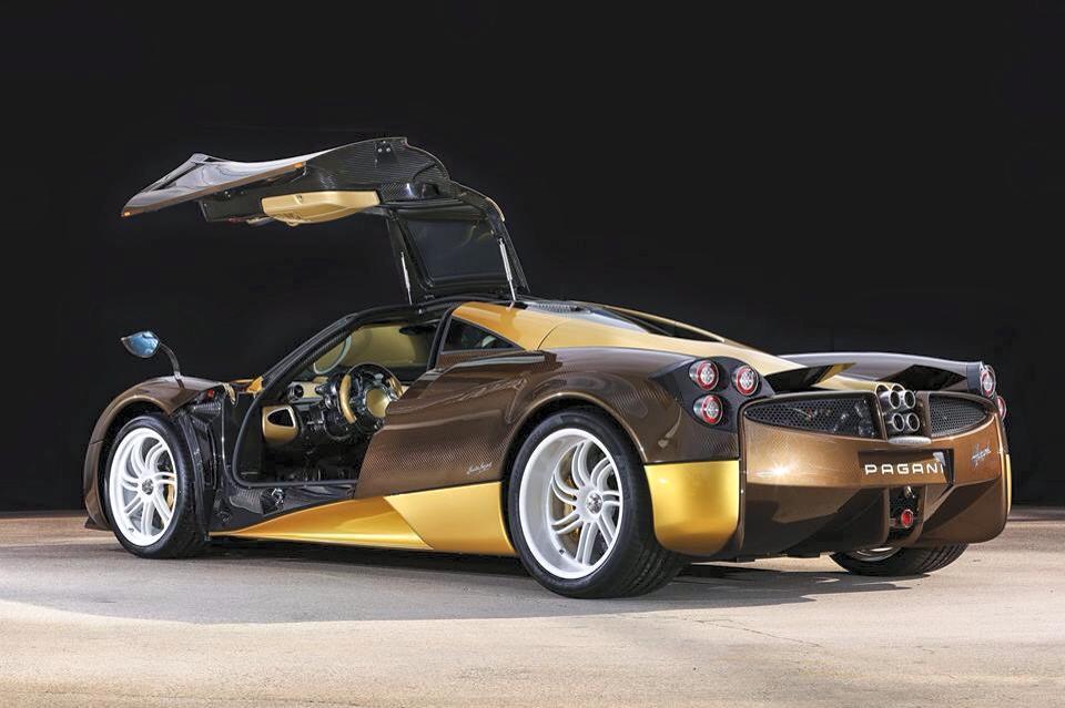 New Gold And Brown Pagani Huayra Arrives In Japan Gtspirit