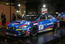 Subaru Reveals WRX STI Race Car for 24 Hours of Nurburgring