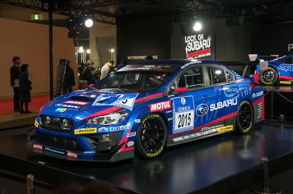 Subaru Reveals WRX STI Race Car for 24 Hours of Nurburgring