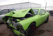 Salvage Dodge Challenger SRT Hellcat
