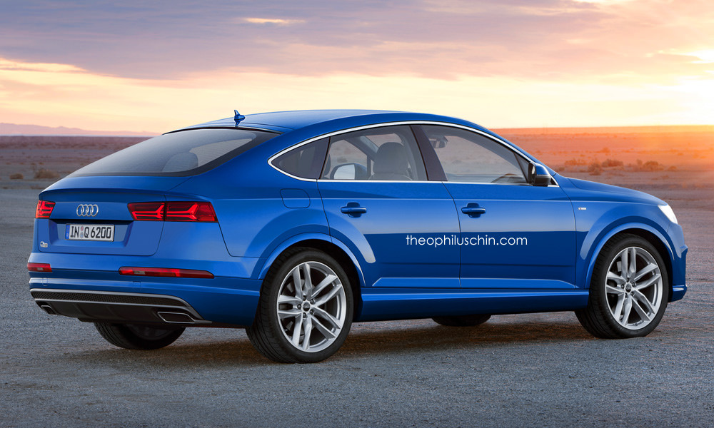 2015 Audi Q5 >> Mythical BMW X6 Rivalling Audi Q6 Rendered - GTspirit
