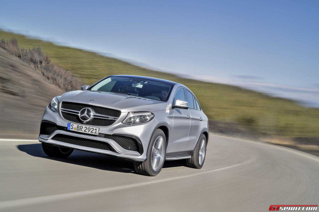 2015 Mercedes-AMG GLE63 Coupe and AMG S Coupe