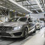 Mercedes-Benz CLA Shooting Brake Production