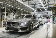 Mercedes-Benz CLA Shooting Brake Production
