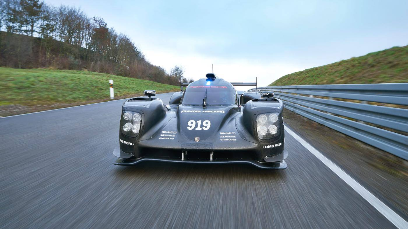 porsche 919 hybrid lmp1 car completes 4 000 km test. Black Bedroom Furniture Sets. Home Design Ideas