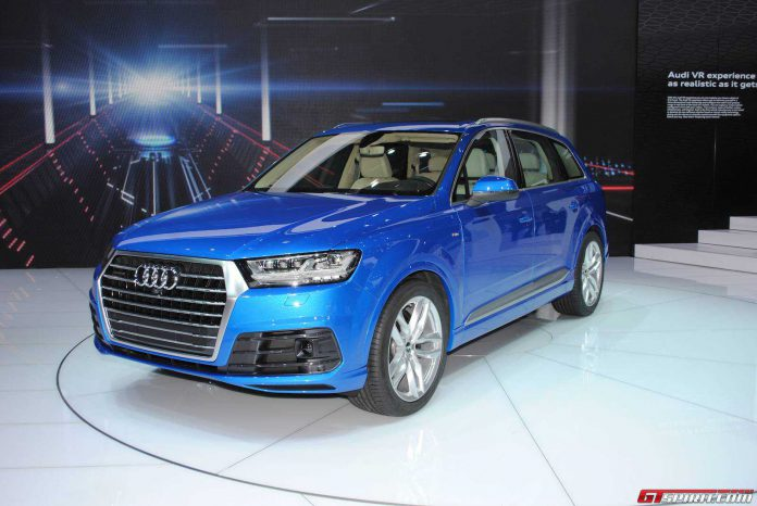 Detroit 2015: Audi Q7