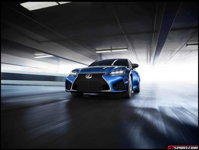 Official: 2015 Lexus GS F