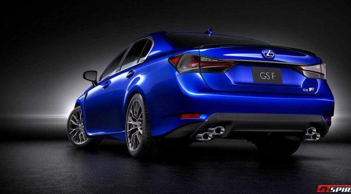 Official: 2015 Lexus GS F